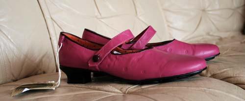 Rosa skor