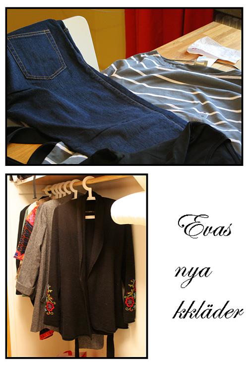 Evas nya kläder