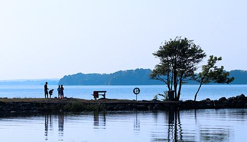 Badkväll Strandängen den 20 juni 2013