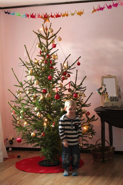Walle och julgranen