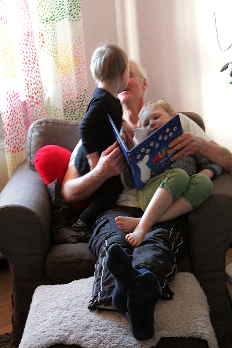 Janne och barnen