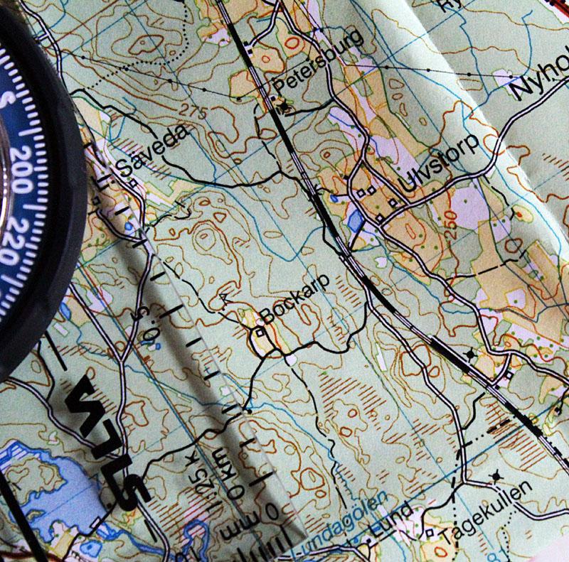 Ny karta och nya stigar