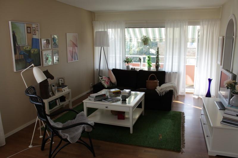 Mitt vardagsrum - snart till salu.