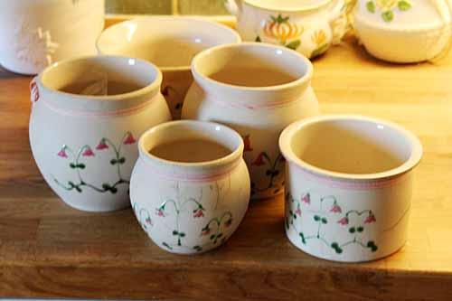Bildresultat för linnea blomma keramik